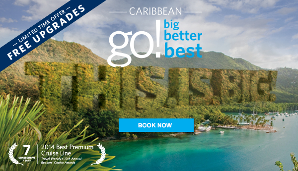 Perk up your Caribbean Vacation. Plus, book a Veranda stateroom with Ocean view rates.