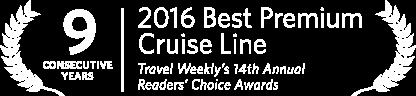 2016 Best Premium Cruise                                          Line