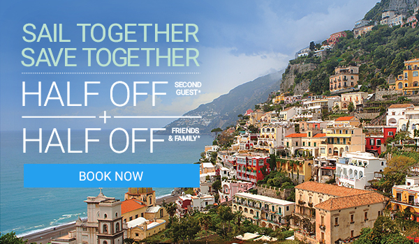 Sail Together, Save Together with this amazing offer.
