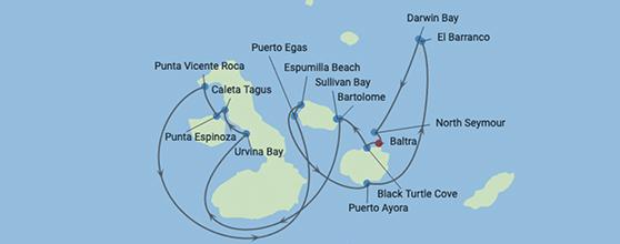 7-Night Galapagos Northern Loop
