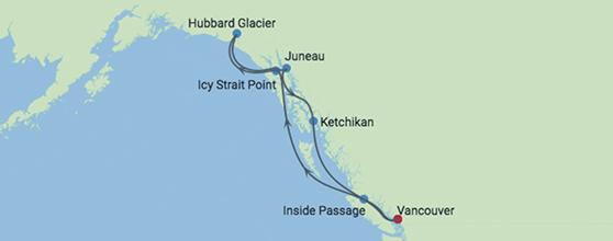 7-Night Alaska Hubbard Glacier
