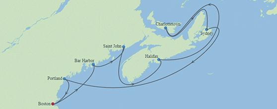 10-Night Boston, Maine, & Canada